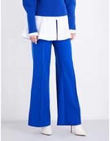 Paper London Encore wide-leg twill trousers