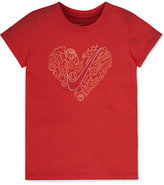 Nike Heart Graphic-Print T-Shirt, Toddler & Little Girls (2T-6X)