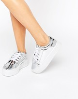 London Rebel Flatform Sneakers