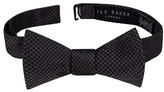 Ted Baker Men's Skinny Houndstooth Silk Bow Tie