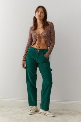 Stan Ray Green Corduroy Painter Trousers - Green 27 at Urban Outfitters