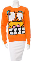 Jeremy Scott Knit Scoop Neck Sweater
