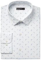 Bar III Men's Slim-Fit Key-Print Dress Shirt, Only at Macy's