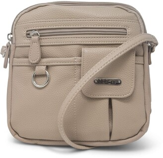 MultiSac North South Mini Zip Around Crossbody Bag