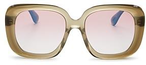 Oliver Peoples Women's Nella Square Sunglasses, 56mm