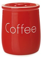 Maxwell & Williams Chef Du Monde Coffee Canister 500ml Red