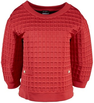 Chanel Red Viscose Tops