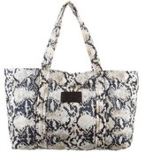 See by Chloe Printed Nylon Tote