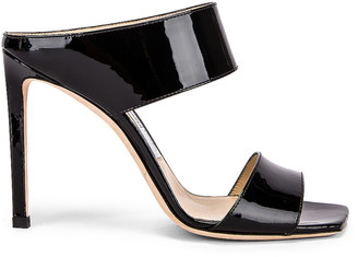 Jimmy Choo Hira 100 Sandal in Black | FWRD