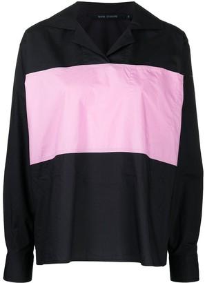Sofie D'hoore Bond two-tone long-sleeved shirt
