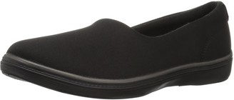 Grasshoppers Women's Lacuna slip on microfiber Shoe