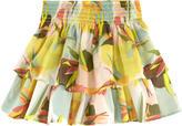 Catimini Printed skirt with flounces