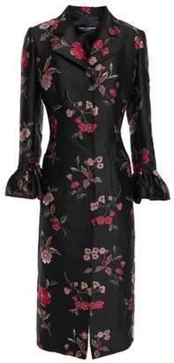 Dolce & Gabbana Floral-jacquard Coat