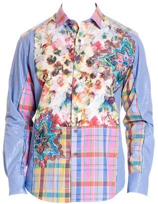 Robert Graham Be Frank Cotton Button-Down Shirt