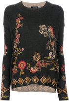 Etro - floral design jumper