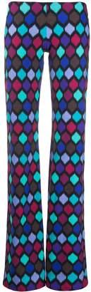 Fisico Low-Waist Geometric Trousers