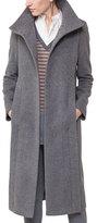 Akris Punto Long Wool-Blend Coat