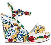 Dolce & Gabbana 'Bianca' wedge sandals