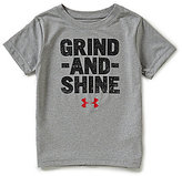 Under Armour Little Boys 2T-7 Grind And Shine Short-Sleeve Tee