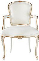 Ave Home Regent Armchair - Antiqued White