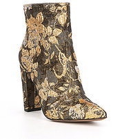 Jessica Simpson Teddi Floral Brocade Ankle Boots
