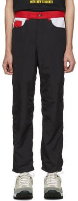 Landlord Black Denim Style Pants