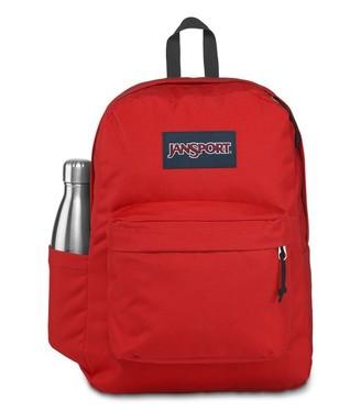 JanSport Backpack Superbreak Plus Red Tape