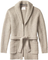 Banana Republic Heritage Italian Wool-Blend Open Cardigan Jacket