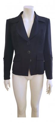 Christian Lacroix Black Silk Jackets