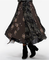 Free People Rock On Asymmetrical Midi Skirt
