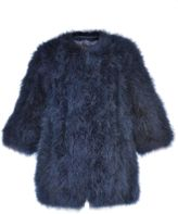 Giorgio Brato Feathered Coat