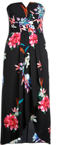 City Chic Succulent Wrap Maxi Dress