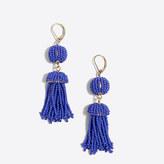 J.Crew Factory Beaded Tassel drop earrings