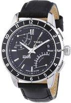 Timex Men's IQ T2N495 Calf Skin Quartz Watch with Dial