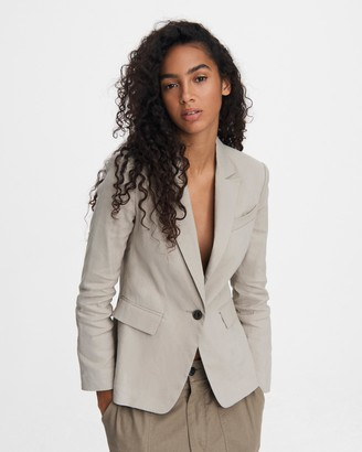 Rag & Bone Rylie linen blazer