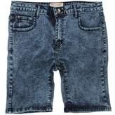 Brave Soul Mens Fullerton Slim Fit Acid Washed Shorts (L)