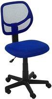 AmazonBasics Low-Back Computer Chair - Blue