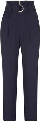 Jonathan Simkhai Belted High-Waist Trousers