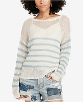 Denim & Supply Ralph Lauren Linen Crew-Neck Sweater