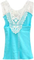 TRURENDI Baby Girls Candy Color Summer Sleeveless vest Tops Tank Top Blouse Shirt Clothes