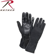 Rothco G.I. Type Flame & Heat Resistant Flight Gloves, Black