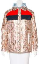 Miu Miu Lightweight Brocade Jacket w/ Tags