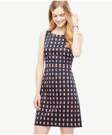 Ann Taylor Geo Block Sheath Dress