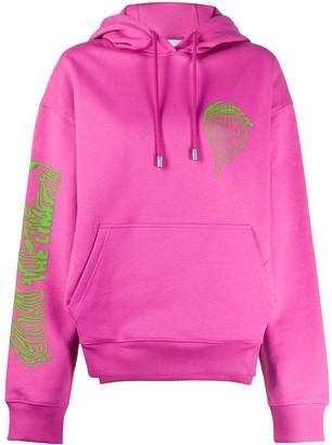 Fenty by Rihanna Beyond the Limits print oversized hoodie