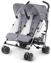 UPPAbaby G-LINK Pascal Aluminum Frame Reclining Side by Side Umbrella Stroller