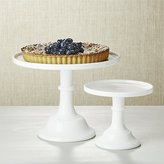 Crate & Barrel Mosser Milk Cake Stands