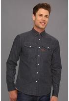 G Star G-Star - RCO Arizona Dot L/S Shirt (Polka Dot Denim Dark Aged) - Apparel