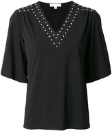 MICHAEL Michael Kors studded shift T-shirt