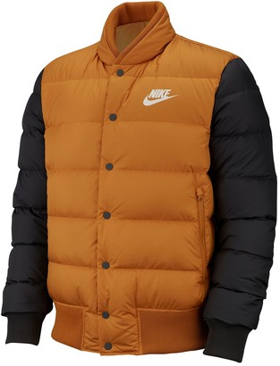 Nike Down Quilted Colorblock Bomber Jacket