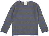 LOUIS LOUISE Striped Wool and Cashmere Bobby Pullover